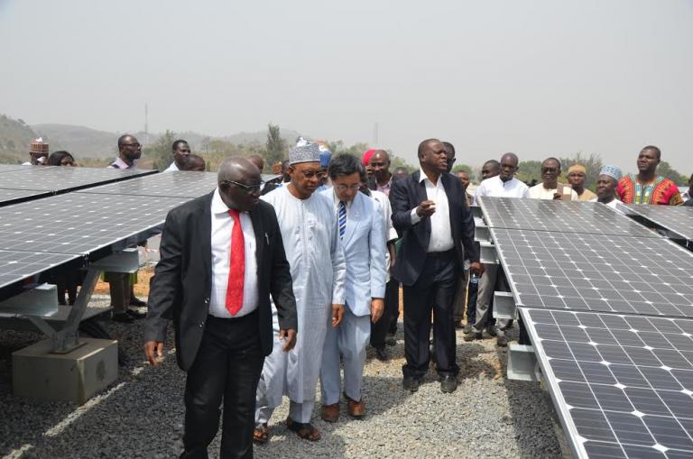 Lower Usuma Dam Solar Plant