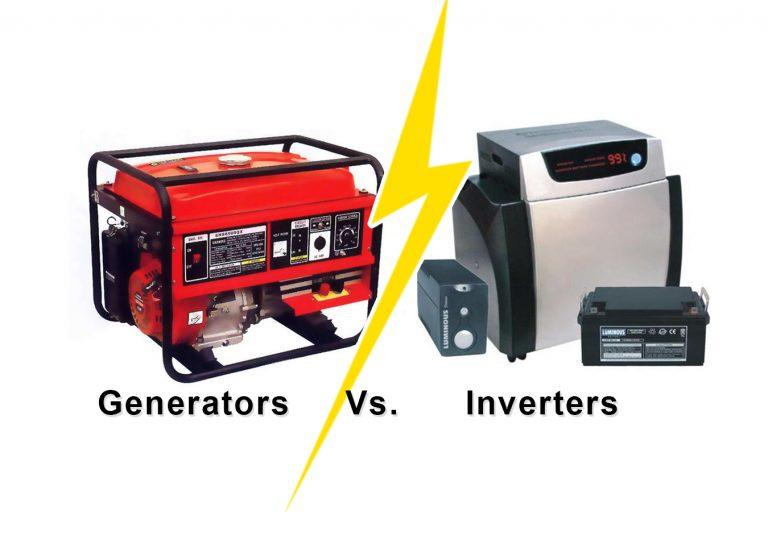 inverters and fuel generators