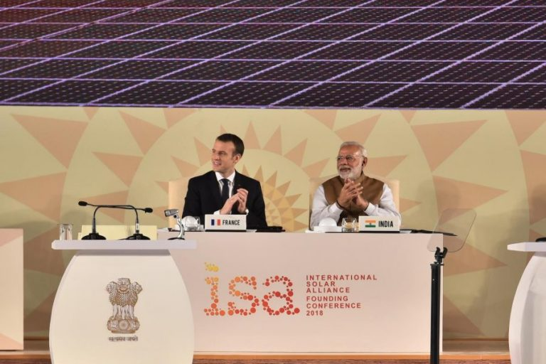 International Solar Alliance (ISA) - alliance of sunshine nations