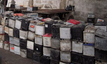 Used Lead Acid Batteries